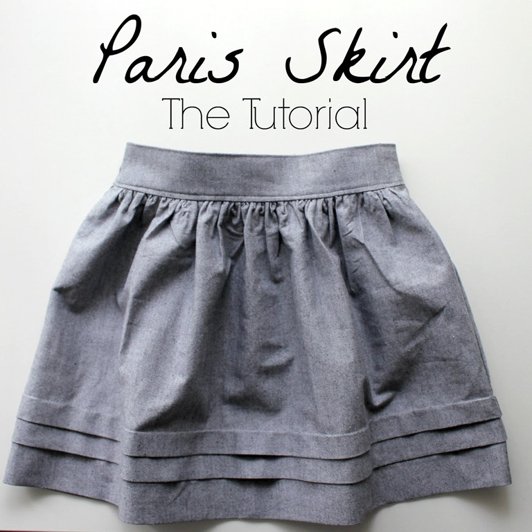 Pleated skirt DIY